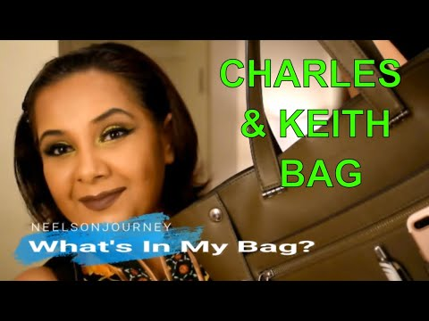WHAT'S IN MY BAG!! Feat. Charles and Keith Bag (Utilitarian Bag)