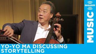 Yo-Yo Ma talks about storytelling on SiriusXM