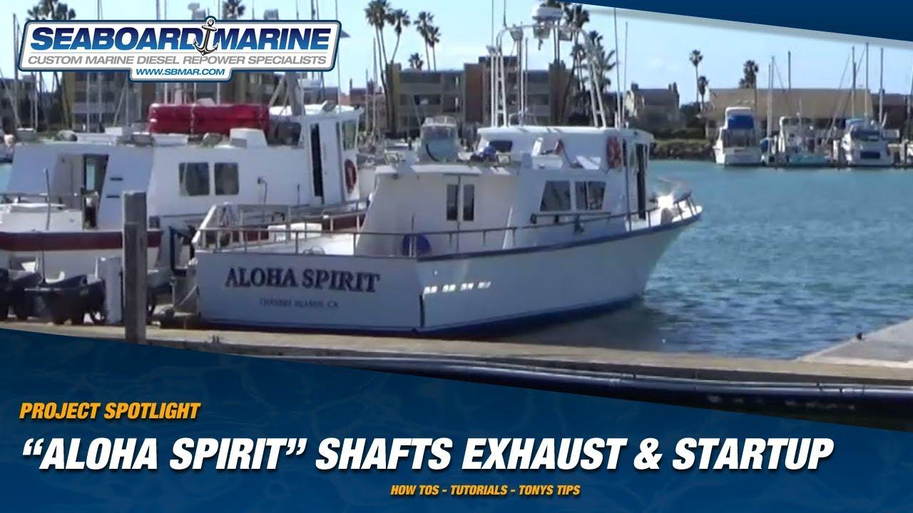 Project Spotlight: Aloha Spirit Shafts, Exhaust, and Engine Test