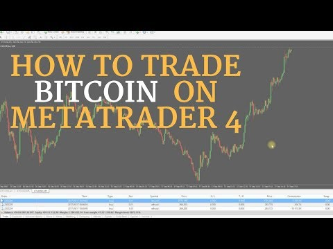 How To Day Trade Bitcoin & Crypto Currency On Metatrader 4