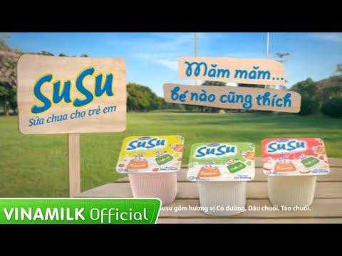Quảng cáo cho bé yêu ăn ngon – Sữa chua Susu vinamilk