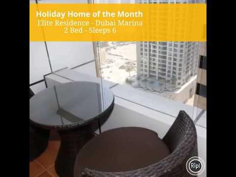 Featured Dubai Marina Holiday Rental Apartment