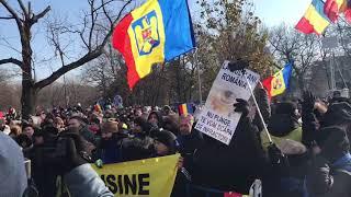 Jandarmeria romana huiduita la Parada de 1 Decembrie la Bucuresti