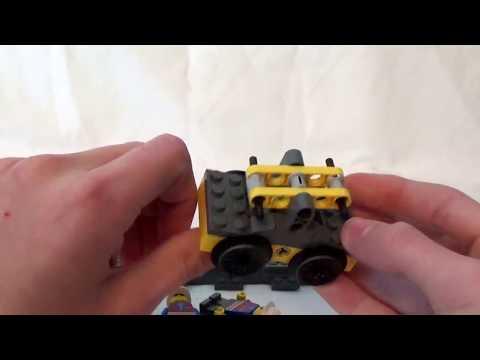 Working Lego Handcar MOC