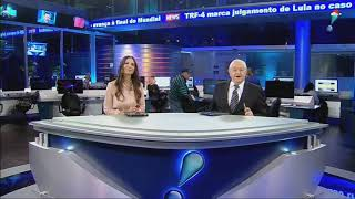 [HD] Encerramento do Rede TV News | 12/12/2017
