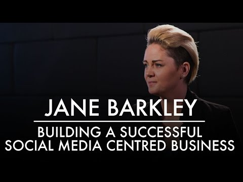 Jane Barkley | Building a Successful Social Media Centred Business | AQ's Blog & Grill