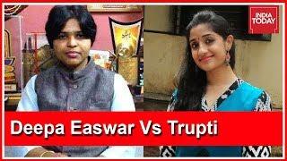 """Real #Sabarimala Culprit Is On This Panel!"" Deepa Easwar On Newsroom Debate"