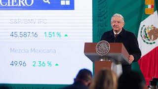 México refrenda no intervención y respeto a la soberanía de los países. Conferencia presidente AMLO
