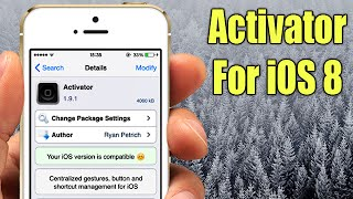 Activator For iOS 8