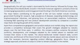 Cell Lysis/Cell Fractionation Market Competitive Landscape and Global Trends