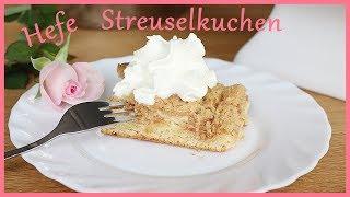 Hefe Streuselkuchen - schnell & einfach - selber machen - Backlounge Rezept