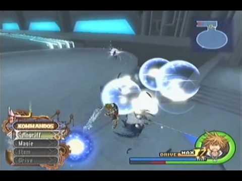 Kingdom Hearts II - Double Sephiroth Action