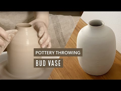 POTTERY WHEEL THROWING SESSION : MY ATTEMPT ON MAKING A BUD VASE