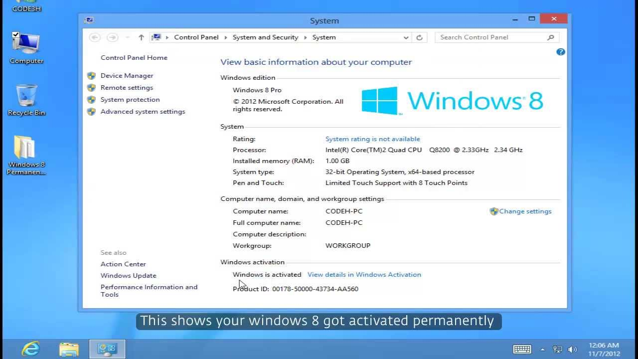 Windows 8. 1 permanent activator 2016 free download.