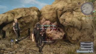 Final Fantasy XV - Side Quest - The Aspiring Artisan