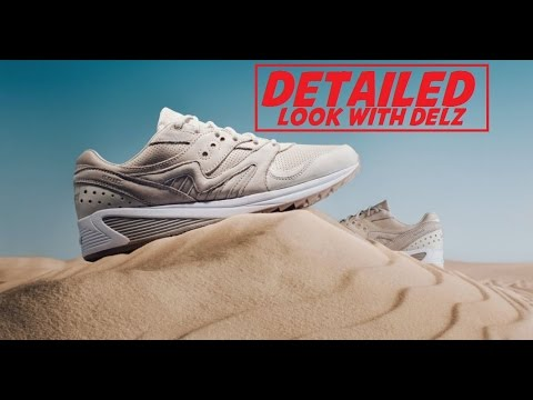 95e081232931f8 Saucony Originals Grid 8000 Desert Sneaker - YouTube