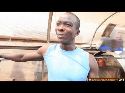 "Mr. Obasanjo Operates His Made-in-Nigeria  ""Jet Car"""