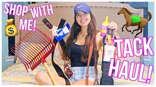 SHOP WITH ME ! + Tack Haul!