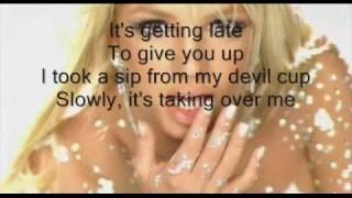 Скачать Britney Spears Toxic Instrumental Lyrics On The Screen