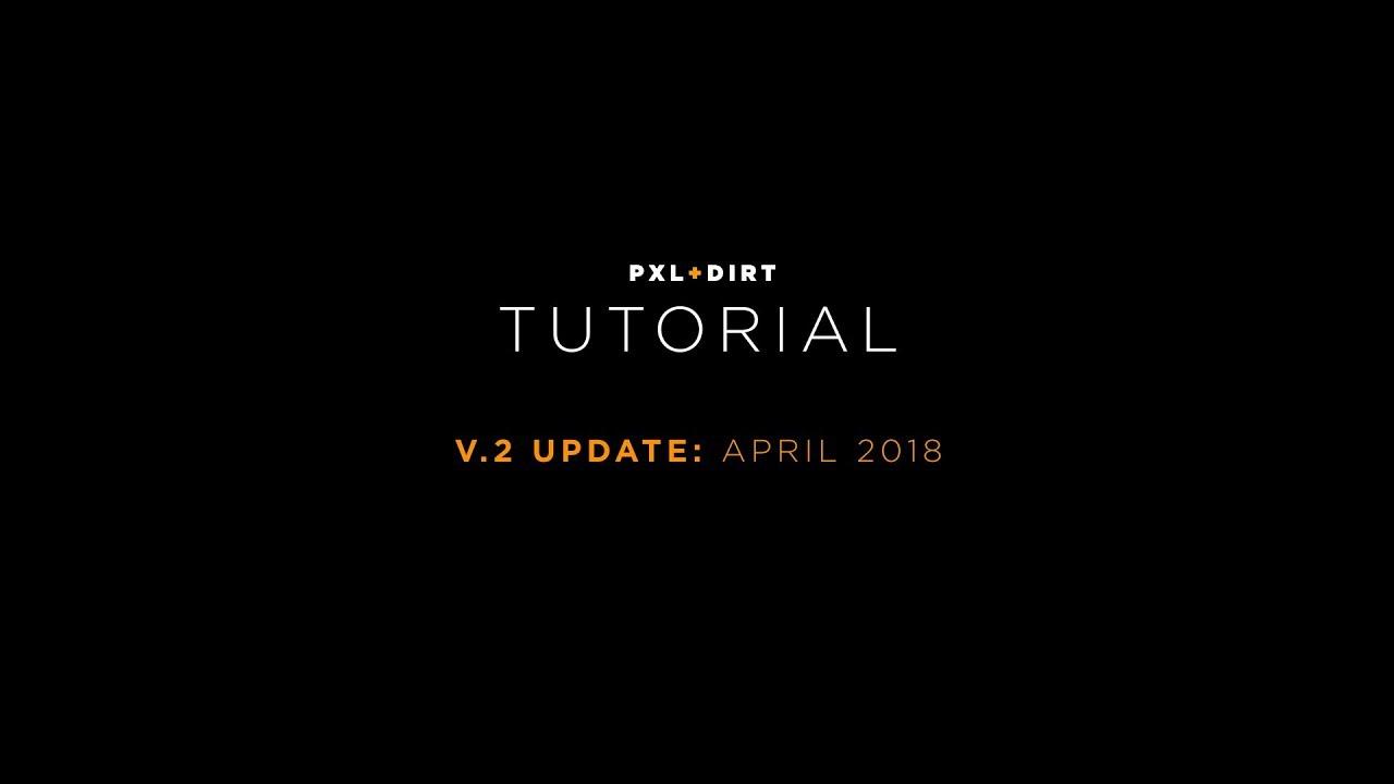 PXL+DIRT Rig For Octane Cinema 4D V2 Update: Tutorial