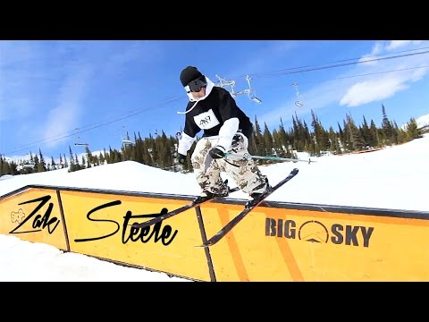 ZAK STEELE | Ski Freestyle session