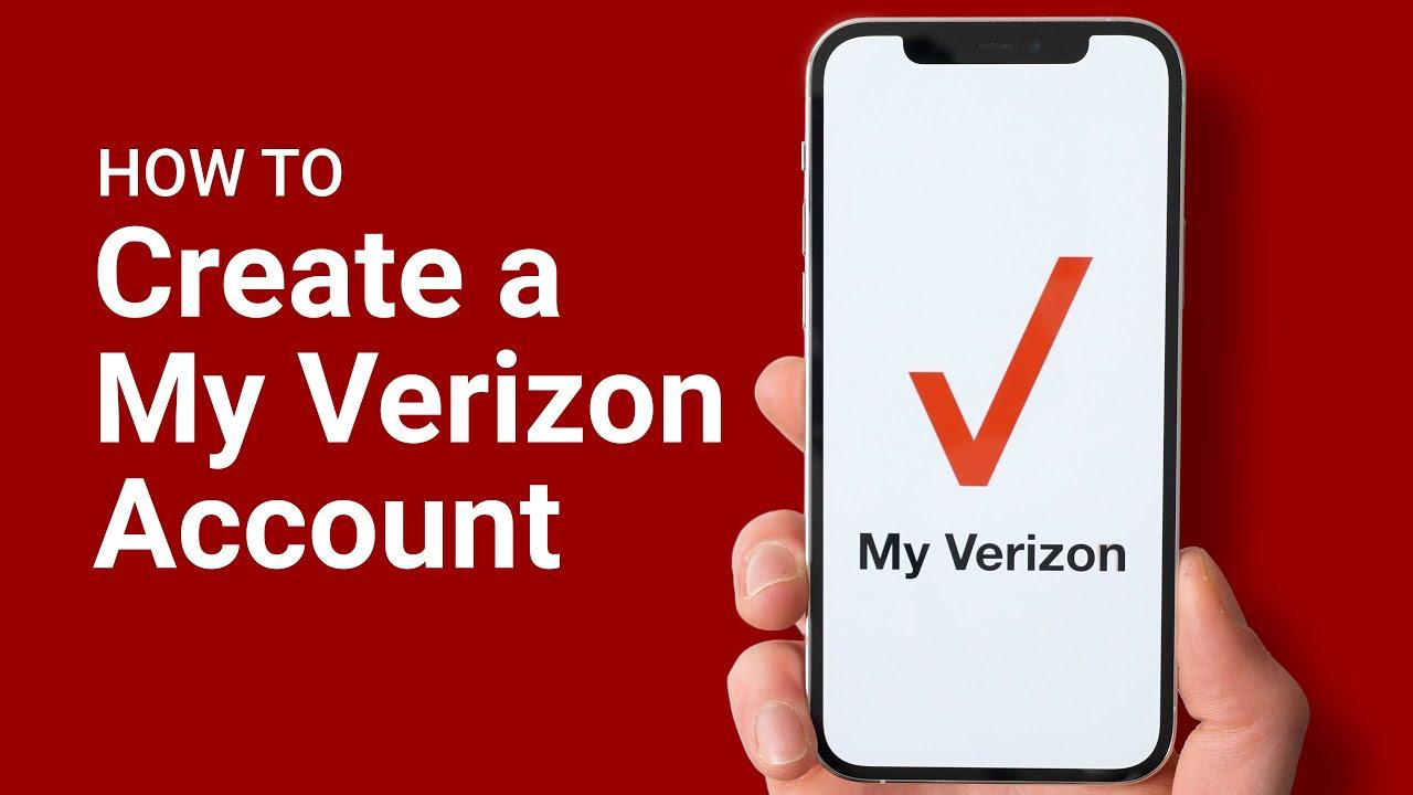 How To Create A My Verizon Account Youtube