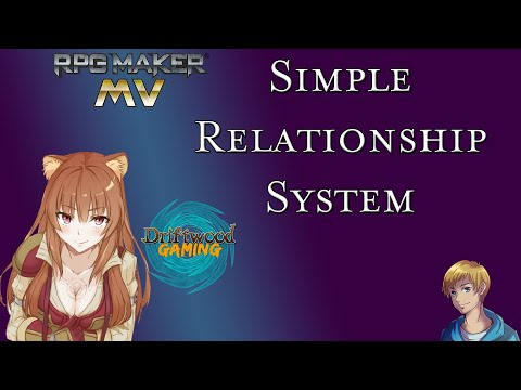 RPG Maker MV Tutorial - A Simple Relationship System - RPGMMV