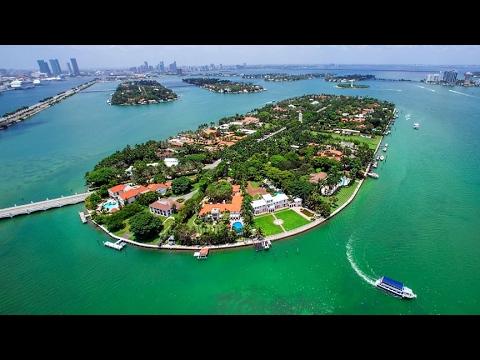 Millionaire Mansions-Star island Miami