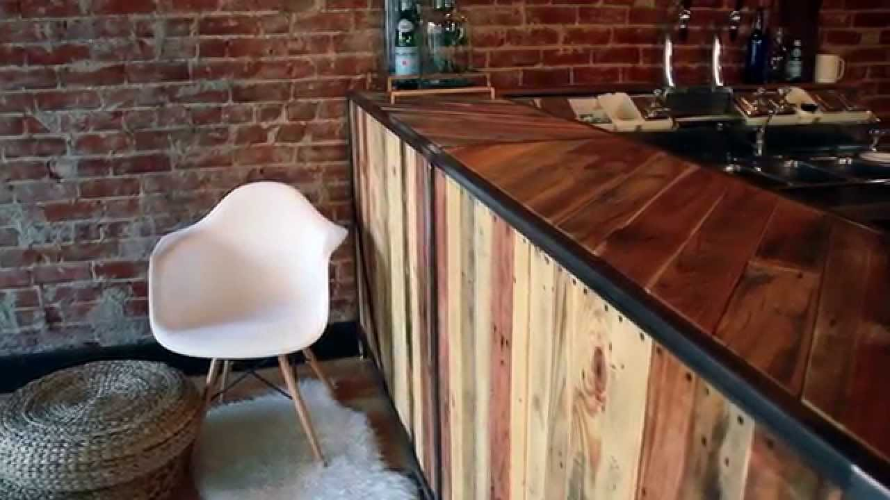 Custom Coffee Bar Build Youtube