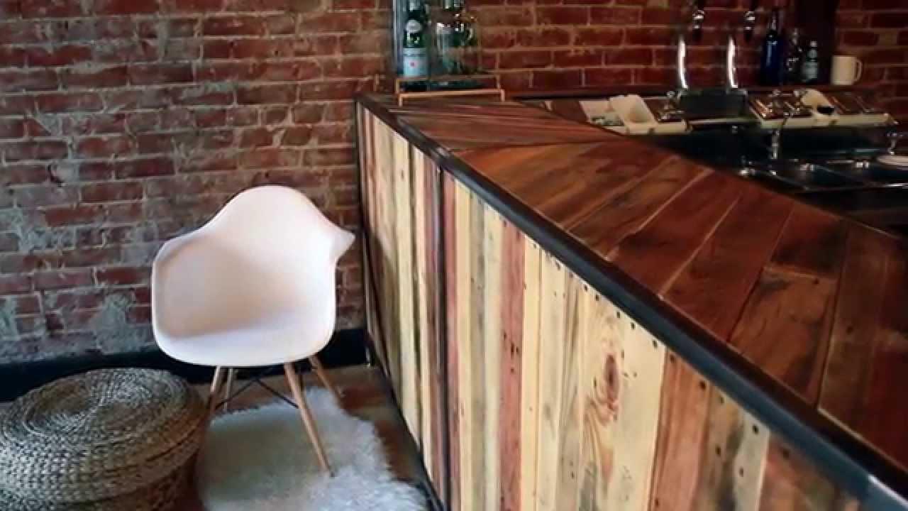 Custom Coffee Bar Build - YouTube