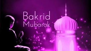 Happy Bakra Eid Mubarak