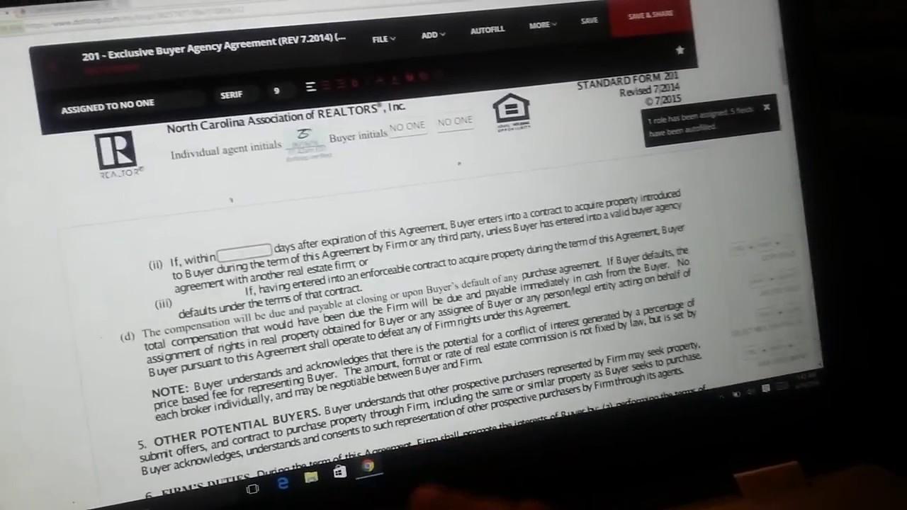 Buyer Agent Agreement Dot Loop Youtube