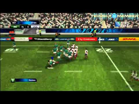 Rugby World Cup - Ireland vs USA 11/09/2011
