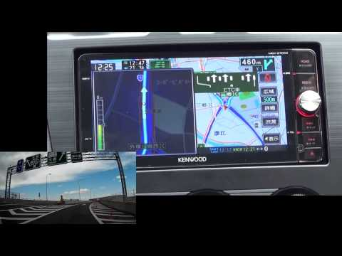 MDV-Z701W+DSRCで常磐道~外環自動車道