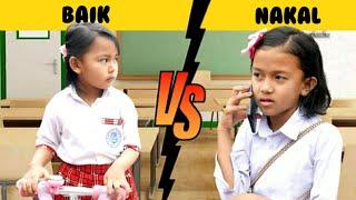 Download SISWA BAIK VS SISWA NAKAL SAAT DI SEKOLAH 😱 Drama Revina