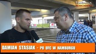 Damian Stasiak krytycznie o walce na UFC Hamburg