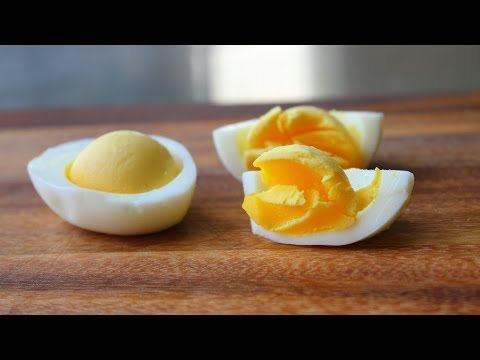 Soft Hard Boiled Eggs - How To Steam Perfect Hard Boiled Eggs With Soft, Tender Yolks