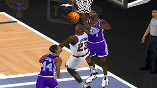 80s All Stars vs 90s All Stars   NBA Live 2000
