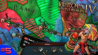 TROCAÇÃO SINCERA COM NOSSOS ANTIGOS ALIADOS! - Europa Universalis 4 #5 - (Gameplay/PC/PTBR) HD