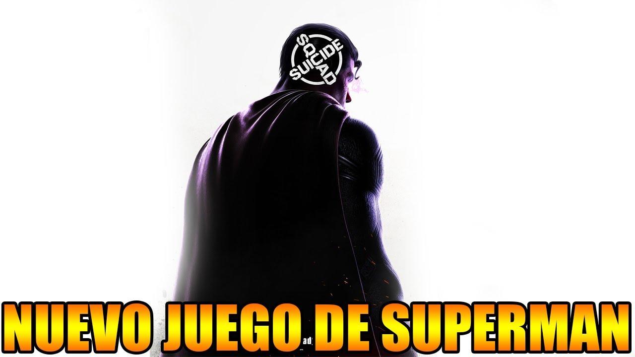 NUEVO JUEGO DE SUPERMAN? AL FIN BUENAS NOTICIAS DE LOS CREADORES DE JUEGOS DE BATMAN