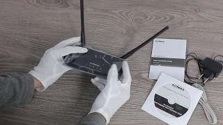 Edimax BR-6428nS V5 розпакування