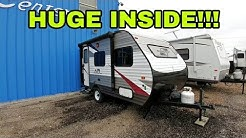 Crazy small RV!  Perfect for SUVs and Small pickups!