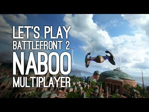 Battlefront 2 Gameplay: Let's Play Battlefront 2 Naboo Multiplayer Gameplay