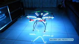 H550 HexaCopter Full Build List