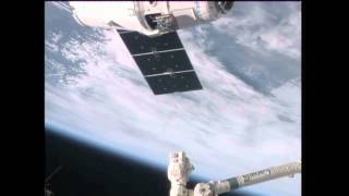 U.S. Cargo Ship Delivers Goods to ISS