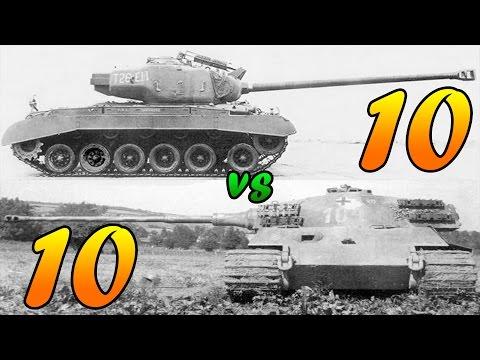 Men of War Assault Squad 2 - 10 Tiger II vs 10 Super Pershing - Editor Scenario #18 |