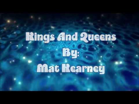 Mat Kearney Kings And Queens (Lyric Video)