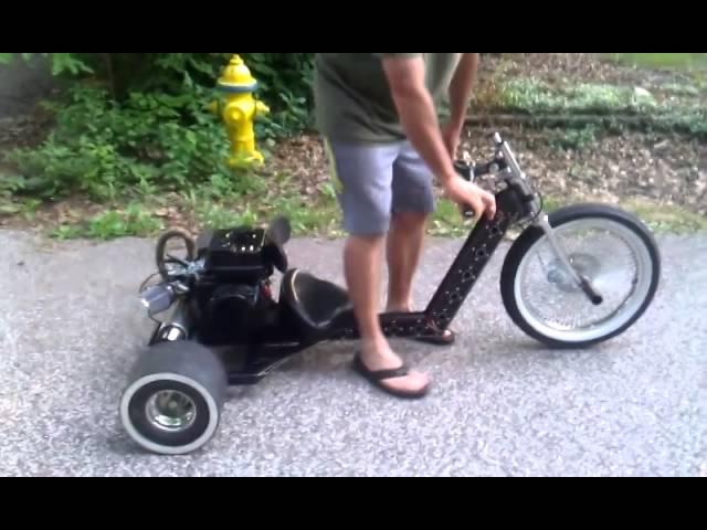 INTUITIVE IRON MOTORIZED DRIFT TRIKE