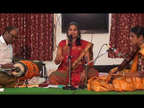 Download Smaramyaham Carnatic Music Concert by  Dr Sandhya Gopalakrishnan at Saket Pranaam    M2U03918