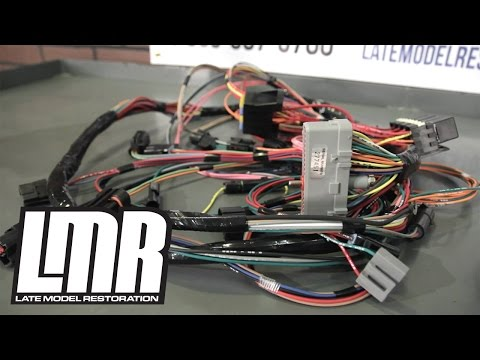 Mustang Wiring Harnesses: Engine Conversion & Restoration ... on